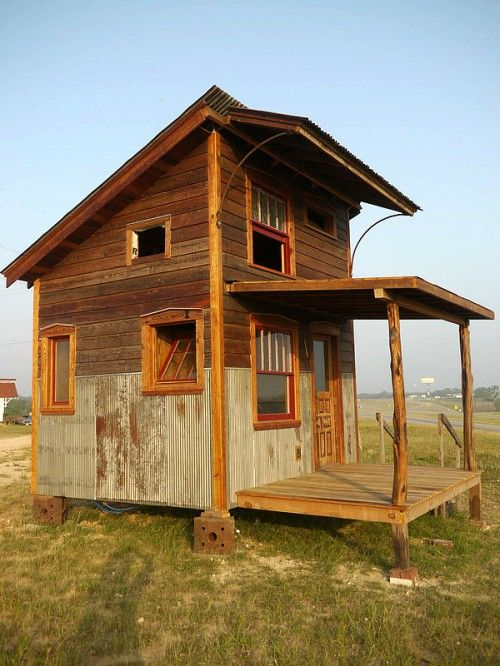 Tiny texas houses beach house and camping pinterest for Texas cabin builders