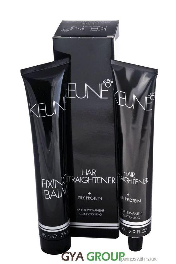 Keune Professional Hair Straightener Silk Protein For