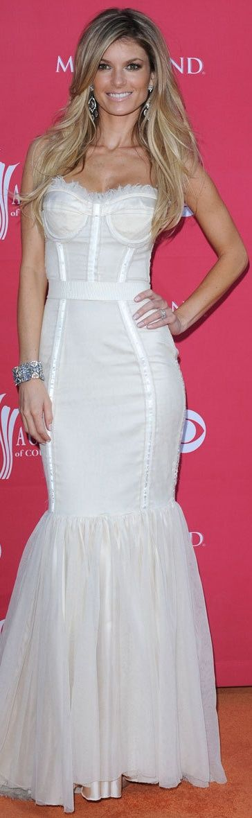 Marisa Miller In Dolce & Gabbana at the 2009 Academy of Country Music Awards in Las Vegas.