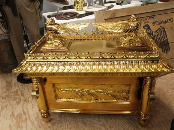 The Ark of the Covenant, found at last! A peek at famous props from Indiana Jones' movies (Michael Avila)