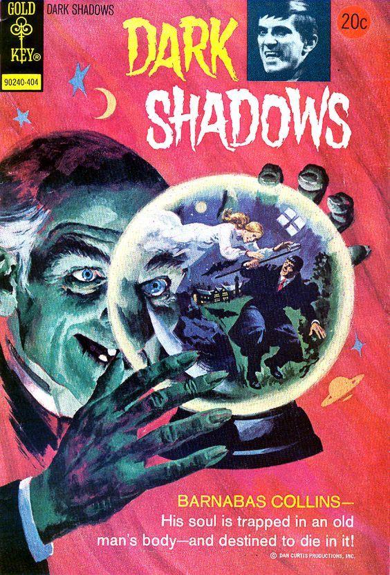 cover art George Wilson  Dark Shadows comic 1969