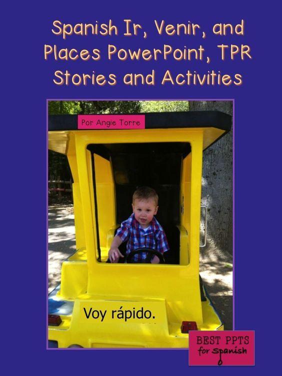 Tpr spanish 1 essay paper ppt