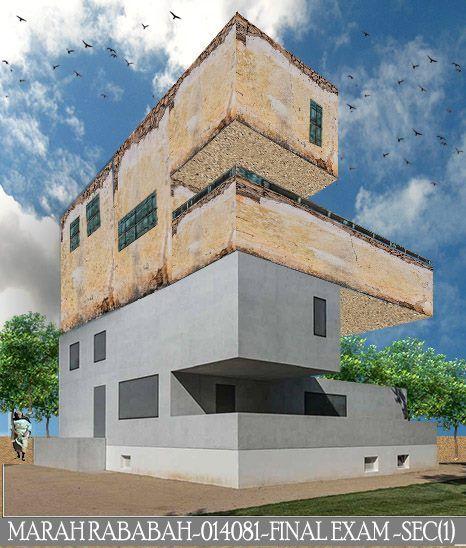 Marah Rababah   الامتحان النهائي-2018- architectural communication skills