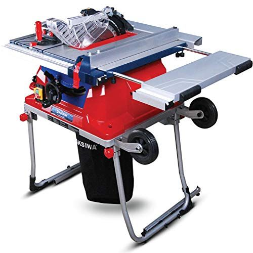 Maksiwa Sc 650 I 10 Inch Portable Table Saw With Rolling Folding Stand Best Price Daily Update Price Comparison Review Luxuify Portable Table Saw Table Saw Sliding Table