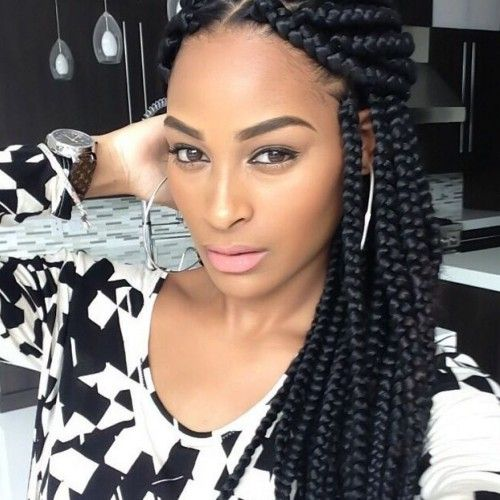 Astounding Box Braids Box Braids Hairstyles And Hairstyles On Pinterest Short Hairstyles For Black Women Fulllsitofus