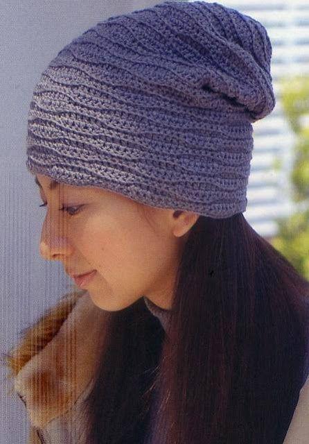 Patrón #1150: Gorro a Ganchillo | CTejidas [Crochet y Dos Agujas]