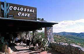 Arizona Colossal Cave - Tucson Arizona Colossal Caves Adventure