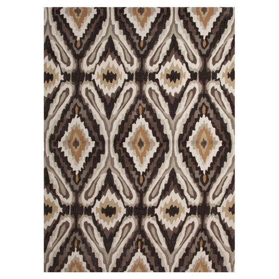 "Abasi Rug in Gray & Black 5'X7'6"" $228.95"