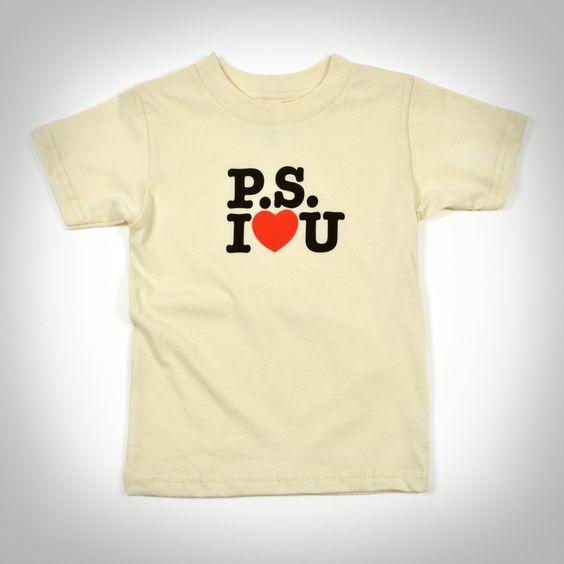 """PS I Love U"" Shirt – Ace Hotel Shop"
