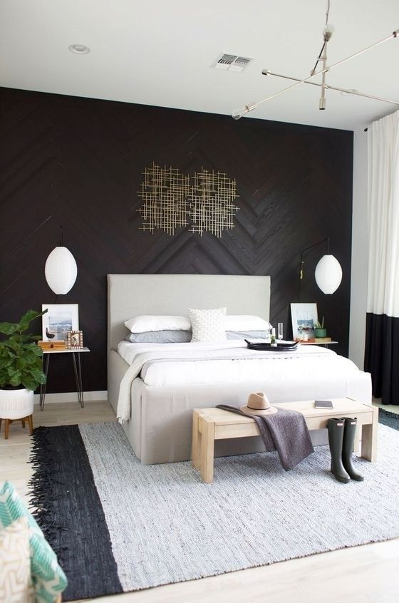 20 Modern Accent Wall Bedroom Ideas For Any Room In Your House 12