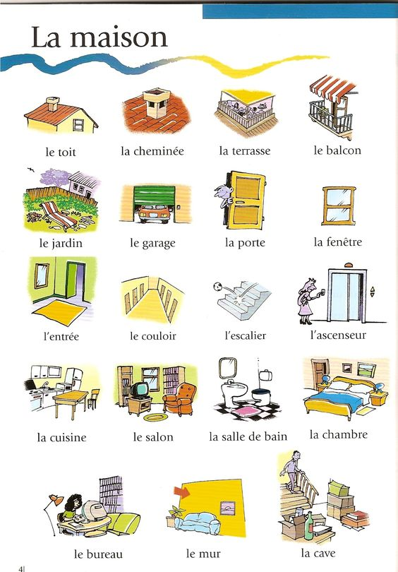 Mots fran ais and vocabulaire on pinterest - Nombre de pieces maison impots ...
