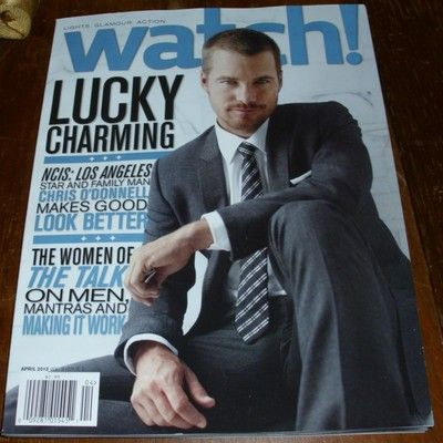Watch Magazine NCIS: Los Angeles Chris O'Donnell Arrow Stephen Amell