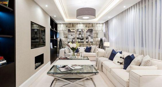 Beautiful Attic Living Room Design 2014 Attic living rooms - couchtische stein fossilstein modern design