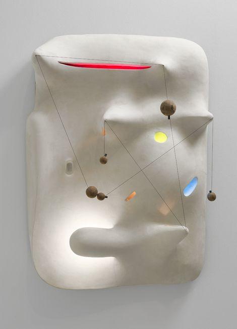 Isamu Noguchi, Lunar Landscape,1943-44 on ArtStack #isamu-noguchi #art