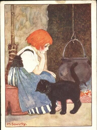 Illustration by Amy Millicent Sowerby (1878-1967):