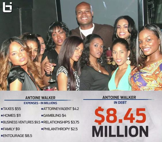 """Antoine Walker has a documentary coming out called """"Gone In An Instant""""   Walker earned and supposedly lost over $100 million during his NBA career.   Read More + Watch The Trailer & Interviews: http://ballislife.com/antoine-walker-documentary-gone-in-an-instant/"""