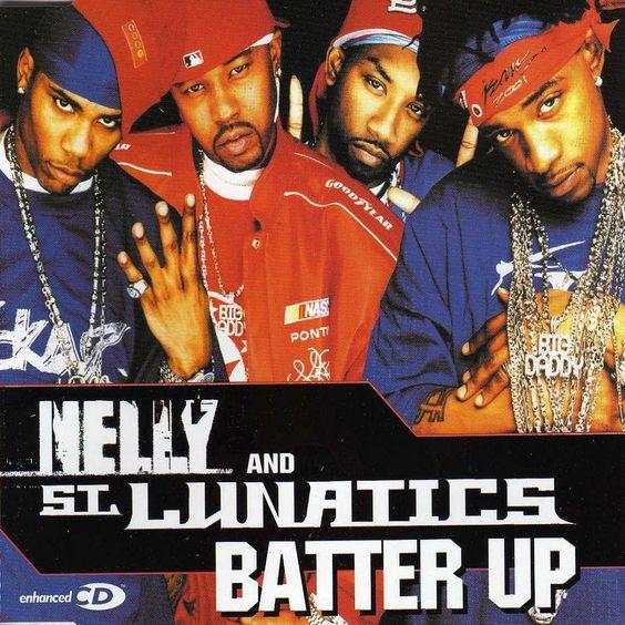Nelly, Ali, Murphy Lee – Batter Up (single cover art)