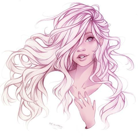 Another Flowy Hair Sketch This Time With My Oc Blanche X I M In The Mood For Just Sketches Latel Long Hair Drawing Art Drawings Beautiful How To Draw Hair
