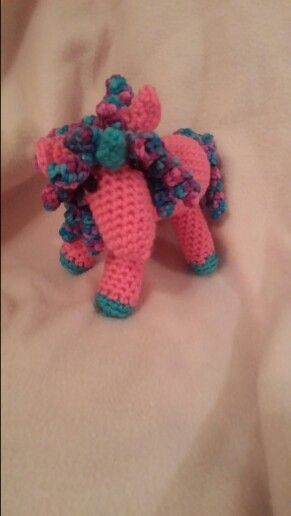 Thanks to Pintetest I made this cute unicorn with a free pattern