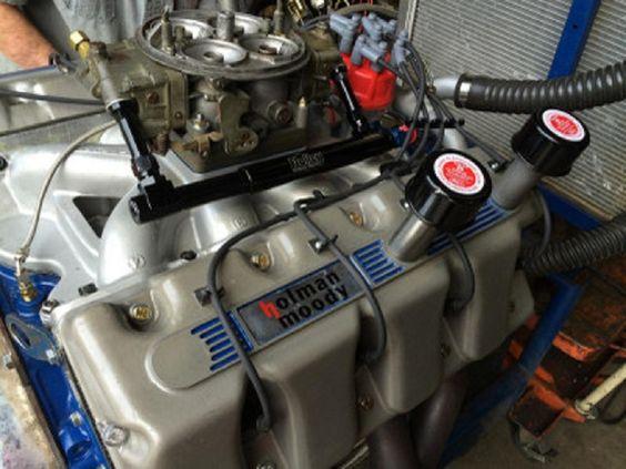 Holman Moody Ford Boss 429 Shotgun Hemi Engine
