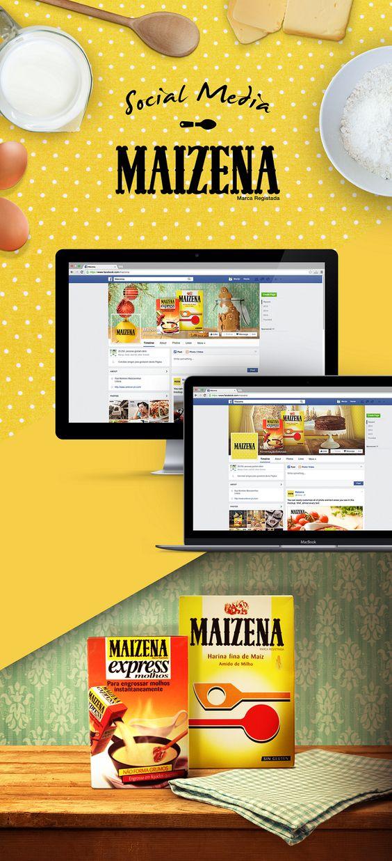 Maizena | Sosyal Medya Cristiana Costa - Portekiz #lezzet #gastronomi #marketing #foodmarketing #food #pazarlama #dijitalpazarlama #tasarım #design #web #sosyalmedya #socialmedia #marketingTR #reklam #ad #branding