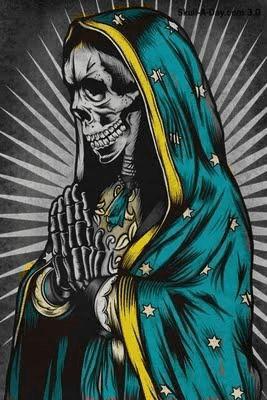 Dia De Los Muertos, Catrinas, Calaveras, Virgen De Guadalupe, Santisima Muerte, Tatuajes, Imagen Santa, Diseños Remeras, Pinturas Mexicanas