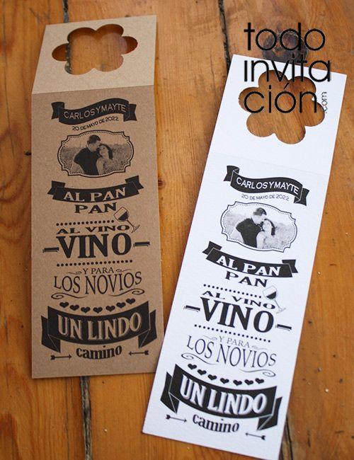Botellas De Vino Para Regalar En Bautizos.Etiqueta Personalizada Vino 1 Bodas Pack De 10 Unid En