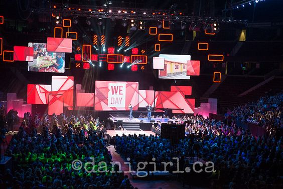 National We Day in Ottawa 2014