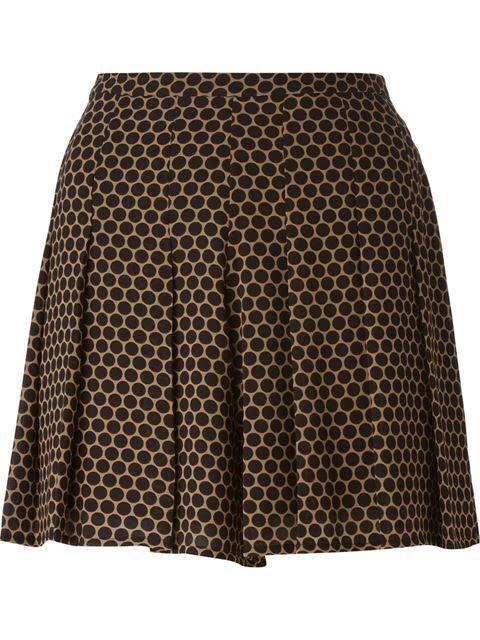 MICHAEL MICHAEL KORS Pleated Polka Dot Shorts. #michaelmichaelkors #cloth #shorts