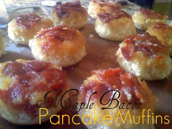 muffins maple bacon bacon muffins to the eggs baking sausages mini ...