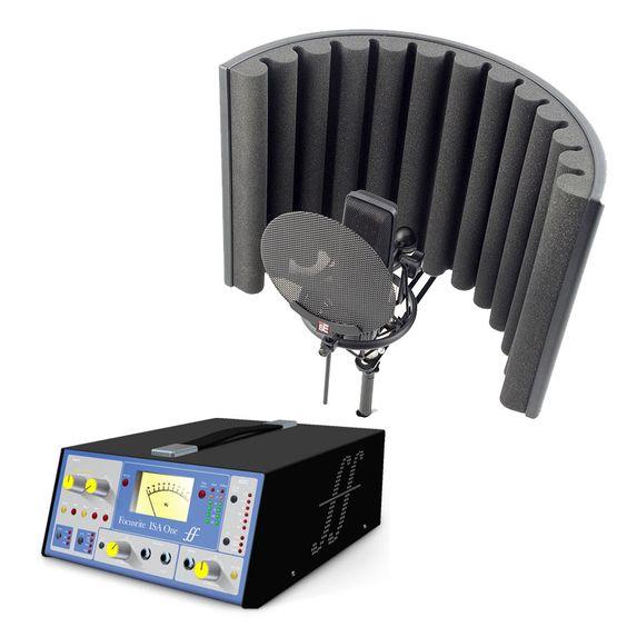 Image: Focusrite ISA One Preamp + sE Electronics X1 Microphone Studio Bundle