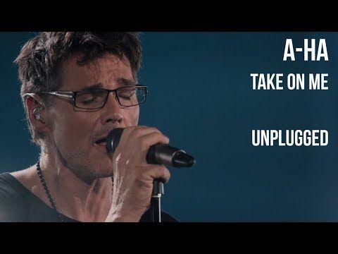 A Ha Take On Me Unplugged Sub Espanol Lyrics Youtube