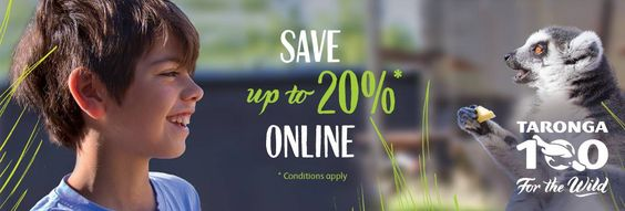 Save up to 20% off when buying tickets online!