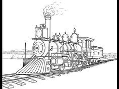 View Source Image Train Coloring Pages Train Drawing Coloring Pages