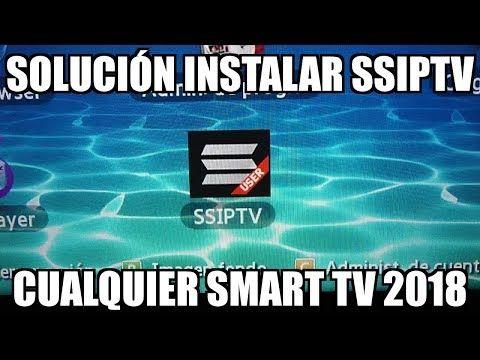 Como Instalar Ssiptv Cualquier Smart Tv Todos Los Metodos 2018 Youtube Smart Tv Antenas Para Tv Trucos Para Android