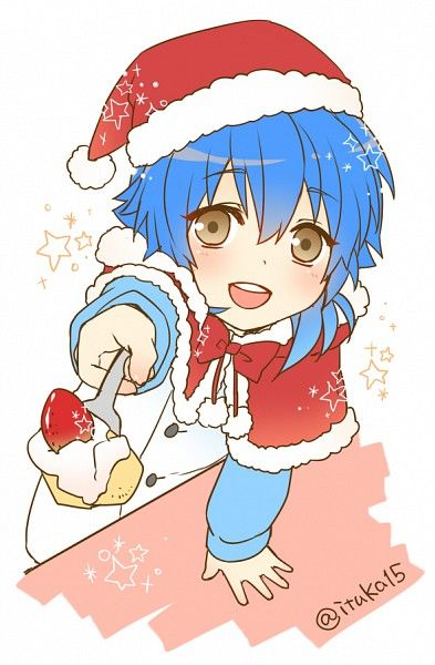 Dramatical Murder Christmas Anime boy:
