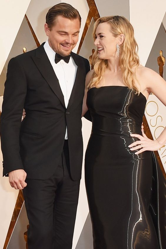 Pin for Later: Leonardo DiCaprio and Kate Winslet Steal the Spotlight at the Oscars