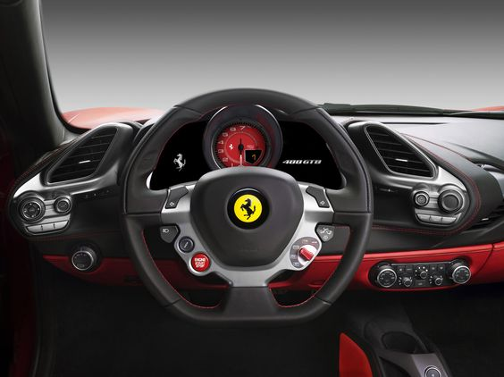 Image result for ferrari 488 steering wheel