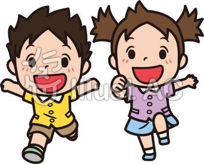 かけっこ 競争 走る 子供 女の子 男の子 園児 児童 遊び 仲良し 楽しい かわいい ポップ 躍動感 セット 半袖 笑顔 疾走 フリー素材 イラスト No 2102366 無料イラストなら イラストac 2020 イラスト フリー素材 イラスト 昔遊び