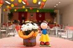 Centros de mesa feitos por Letícia Myiazaki:
