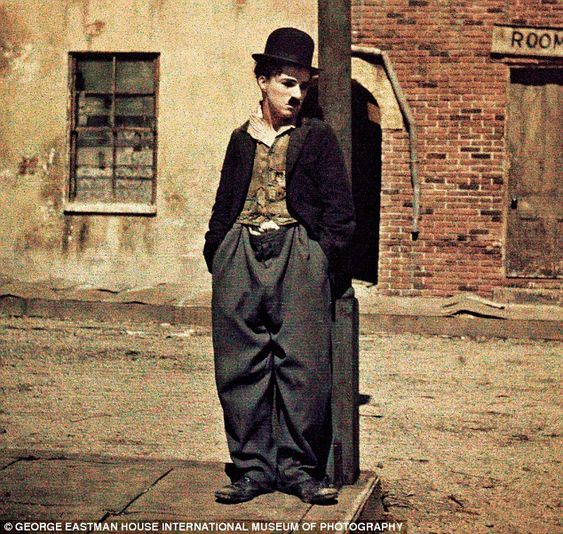 Assigned to play a drunk for a film in 1914, Chaplin spotted Roscoe 'Fatty' Arbuckle's eno...