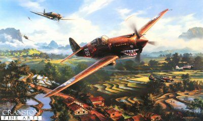 Tiger Fire by Nicolas Trudgian.  In early 1941, many months before Pearl Harbor, an irrepressible bunch of American fighter pilots, together with 200 ground crew, came together and stood alone against the might of the Imperial Japanese Air Force. Under the indomitable command of General Claire Chennault, their task was to keep the vital road link open between the port of Rangoon and the city of Kunming in South West China. 16