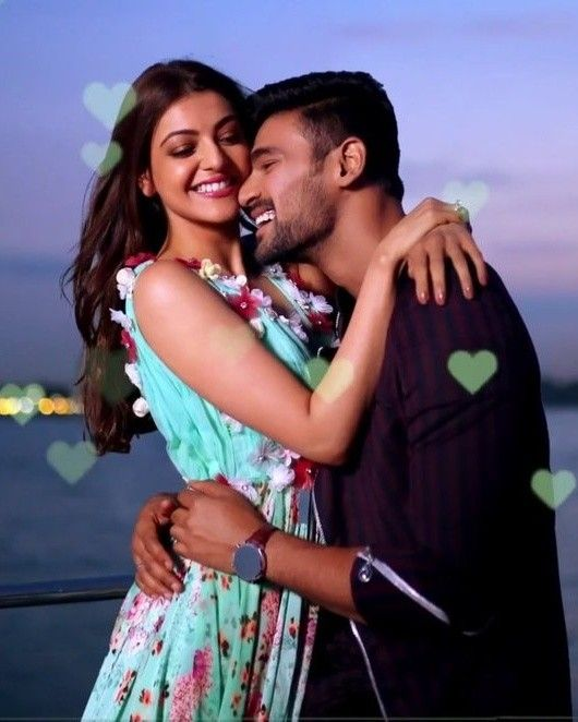 Kajal Aggarwal Cute Couples Couples Photoshoot Romantic Love Couple
