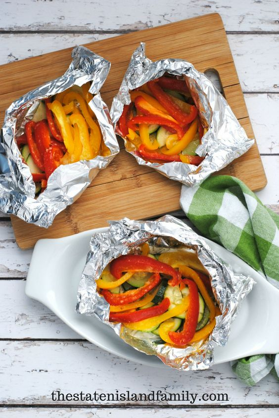 Foil Packed Veggies – Easy Weight Watchers Side Dish
