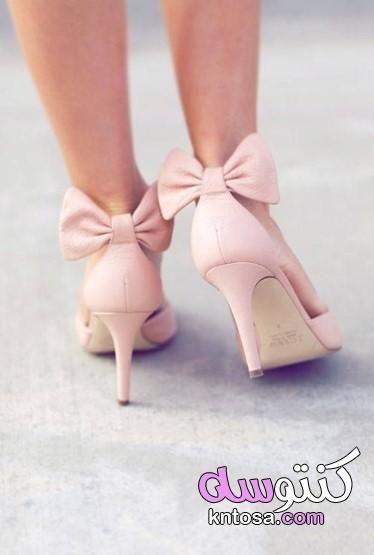 تنسيق لون الحذاء مع الملابس للنساء الوان الاحذيه الاساسيه لون الحذاء المناسب لفستان كشمير Pink Wedding Shoes Wedding Shoes Vintage Blush Wedding Shoes