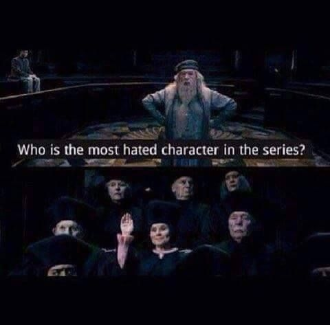 Who is the most hated character in the series?