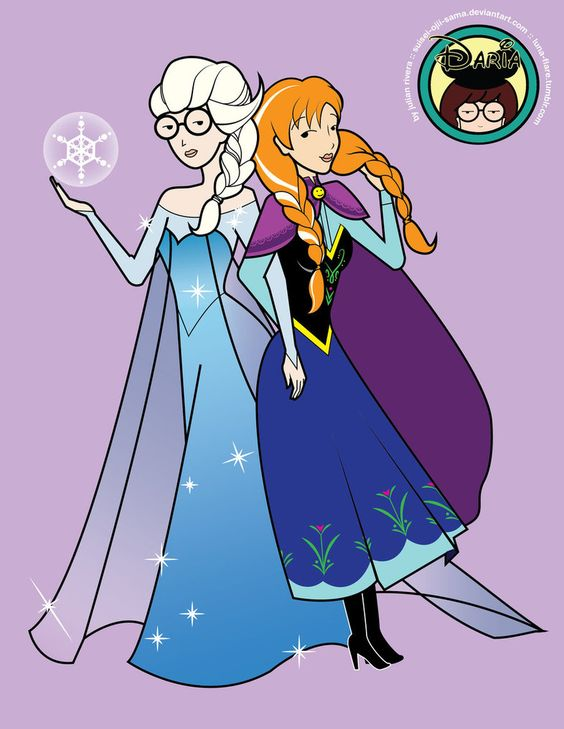Disney Daria: Sick, Sad, Arendelle by suisei-ojii-sama on deviantART