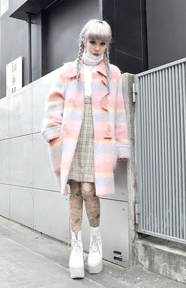 Pastel Japanese Street style x