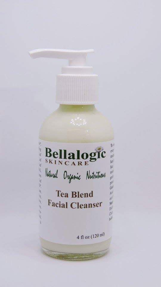 Tea Blend Facial Cleanser $12.00 http://bellalogicskincare.com/ Our Tea Blend Facial Cleanser has a lotion texture which leaves your skin soft, smooth, clean and nourished. Aloe, green tea, white tea and rooibos tea are powerful antioxidants and have a soothing effect on the skin.