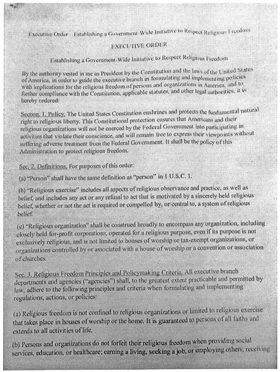 A leaked copy of a draft executive order titled u201cEstablishing a - is a purchase order a legal document